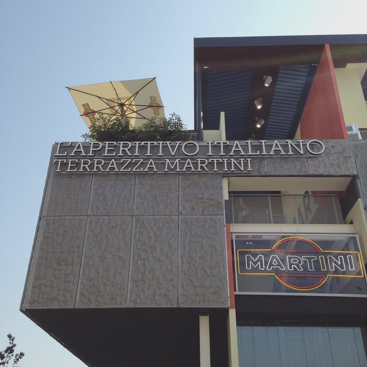 INGRIDESIGN EXPO milan 2015 l'aperitivo italiano terrazza martini