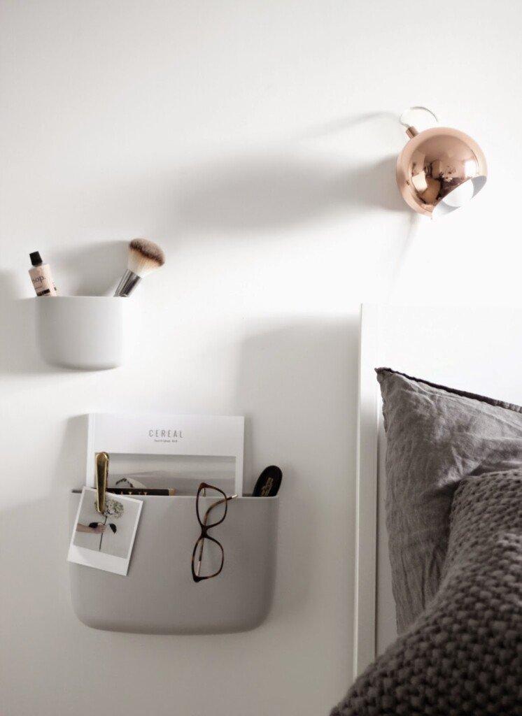 Scandinavian bedroom scandinavianlovesong nighstand pockets normanncopenhagen