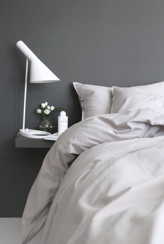 Scandinavian bedroom stylizimoblog nighstand minimal shelf