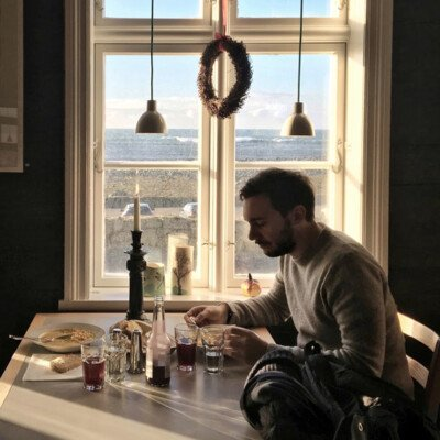 lunch norway view cozy hygge window