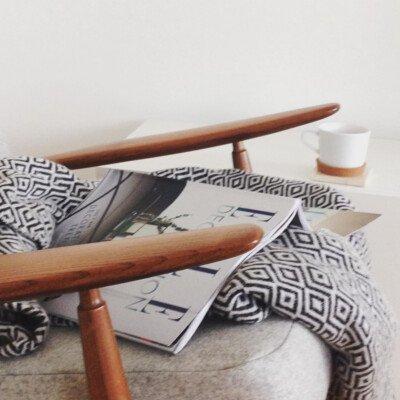 scandinavian feeling cozy home hygge reading