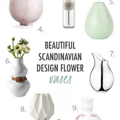vase decor home interior scandinavian