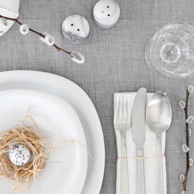 Stylizimo easter table nest minimal scandiavian
