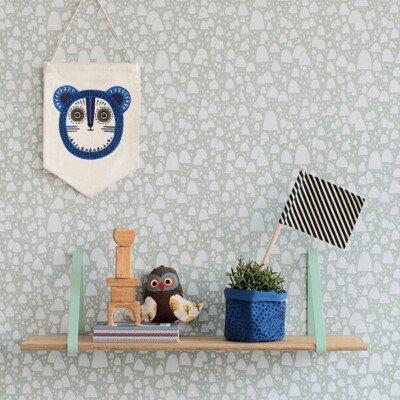 ferm living kids room shelf wall