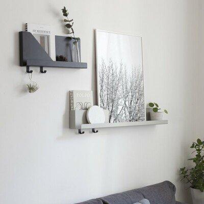 SNOWY TREE cocolapine design poster shelf