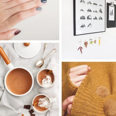 scandinavian autumn mood moodboard