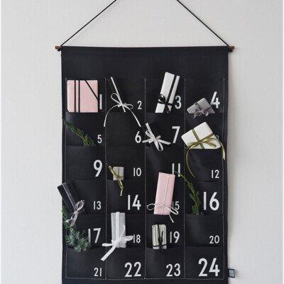 scandinavian advent calendar designletters