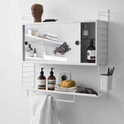 String news 2018 shelf bathroom close