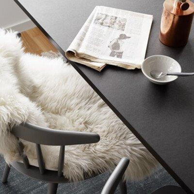 decordots cozy faux fur chair