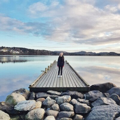 norway travel fjord view scandinavian