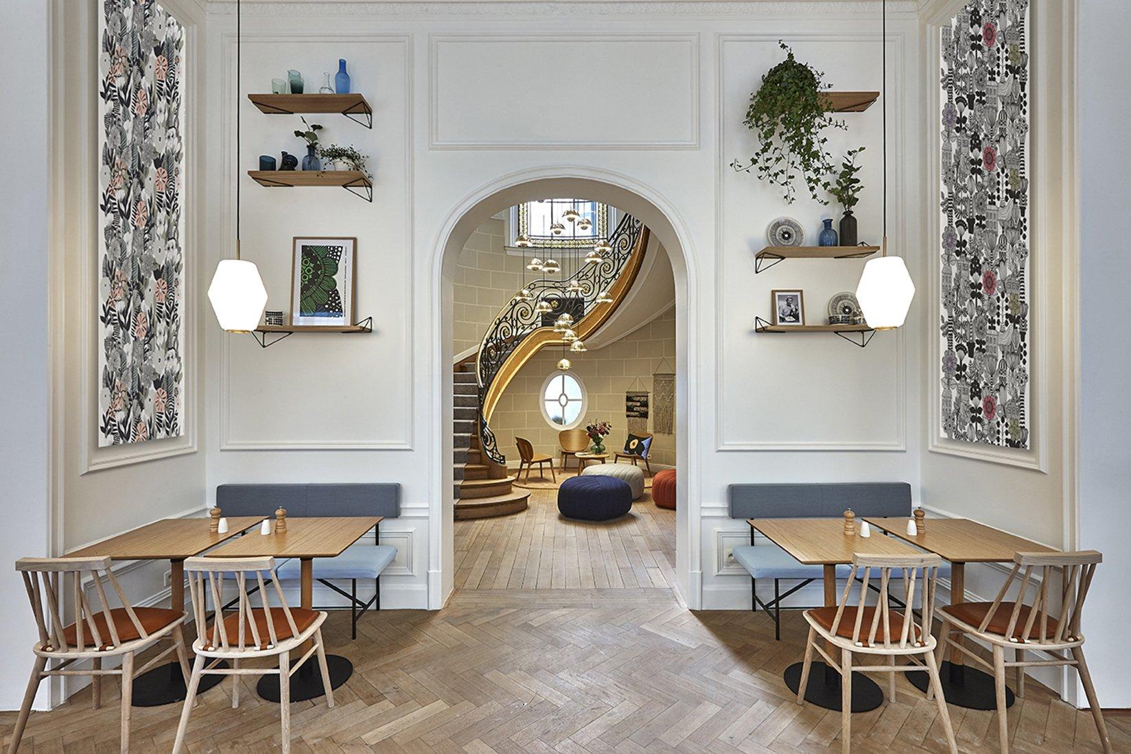 hygge hotel brussels belgium hallway