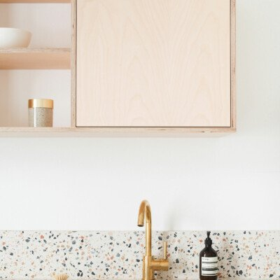 archi terrazzo heju kitchen minimal