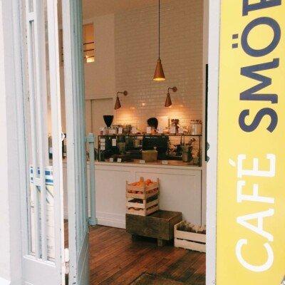 Cafe smorgas paris exterior entrance