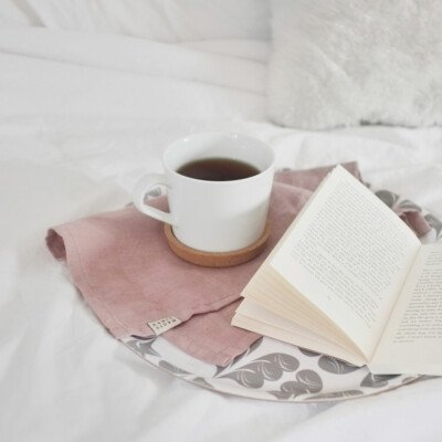 hygge weekend bed cozy book