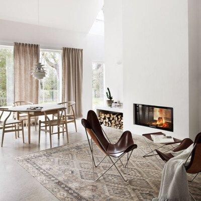 scandinavian feeling cozy neutal home
