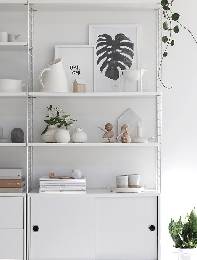 scandinavian feeling shelf designchaser