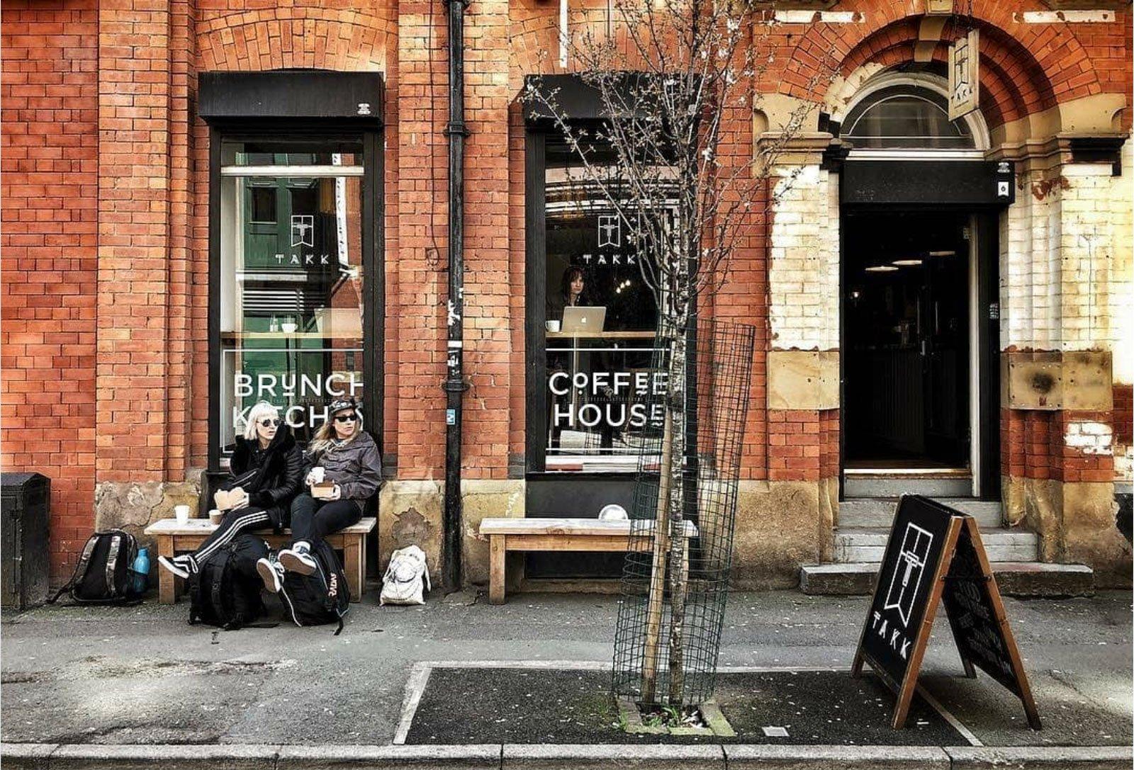takk cafe coffee nordic entrance