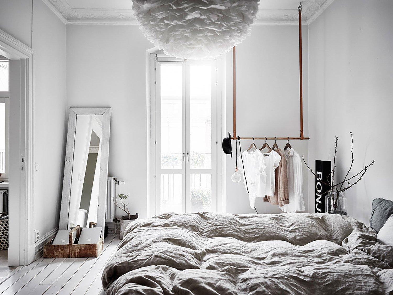 bedroom cozy hygge light