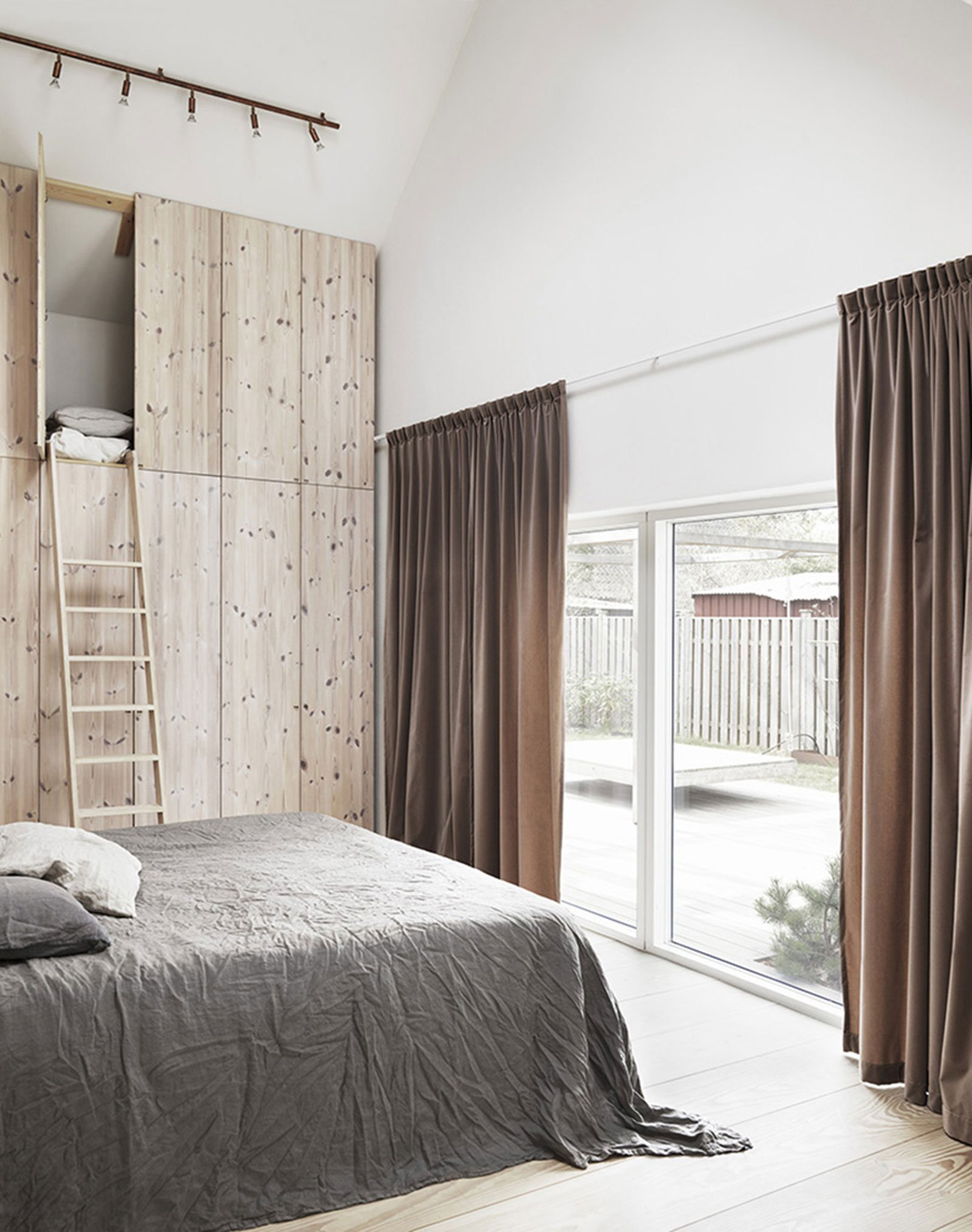 bedroom cozy natural warm
