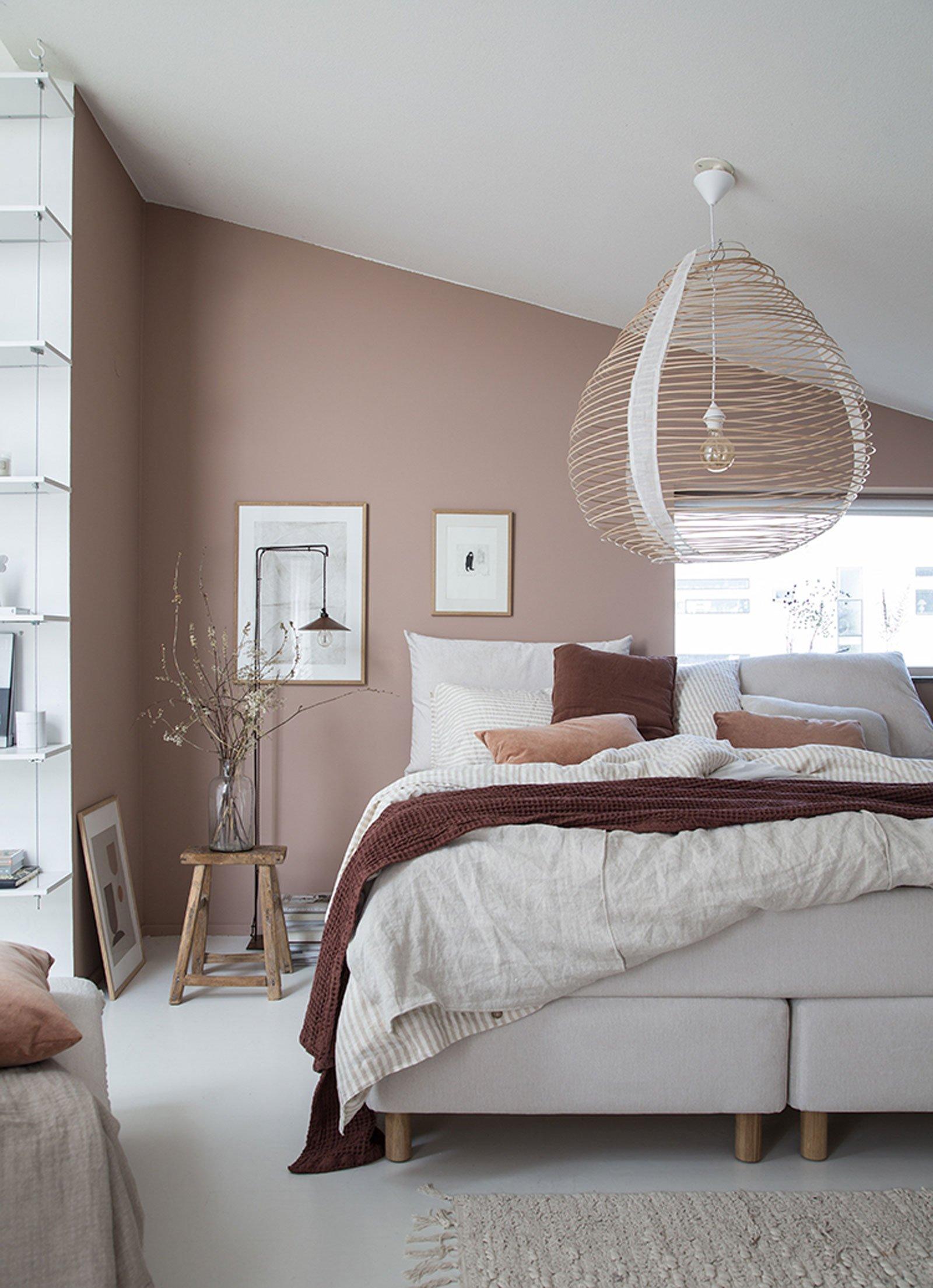 bedroom cozy pink soft