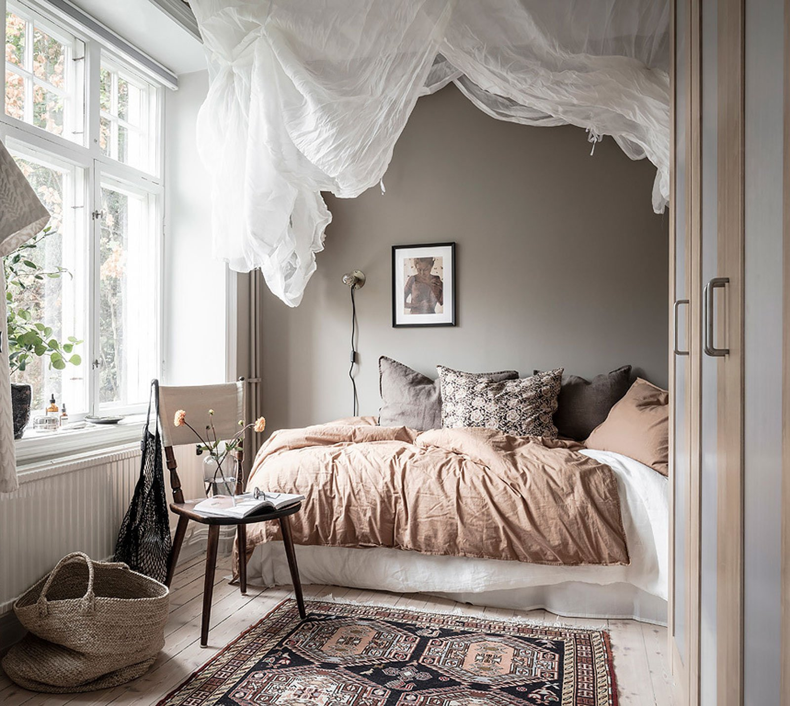 30 Cozy Scandinavian Bedrooms