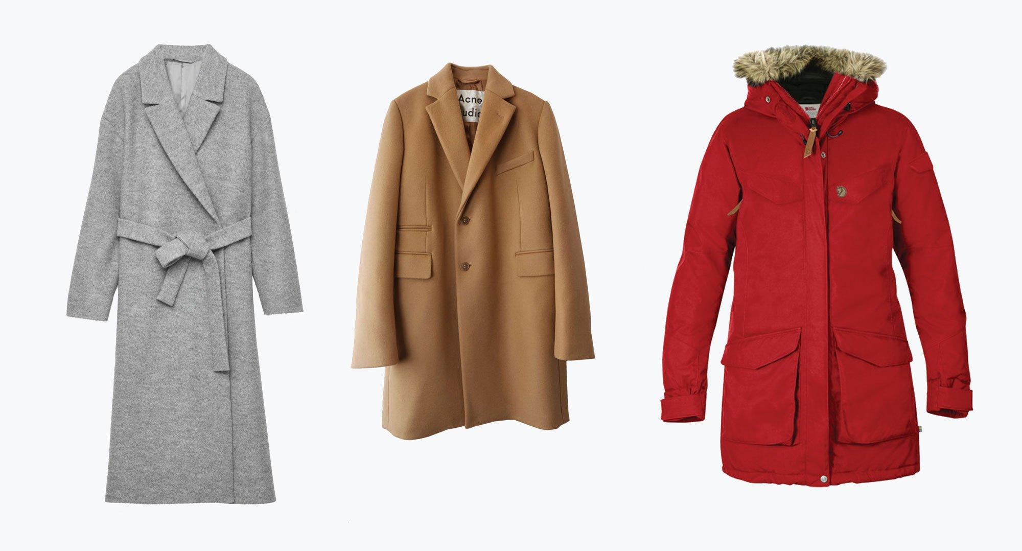 scandinavian coats autumn winter essentials