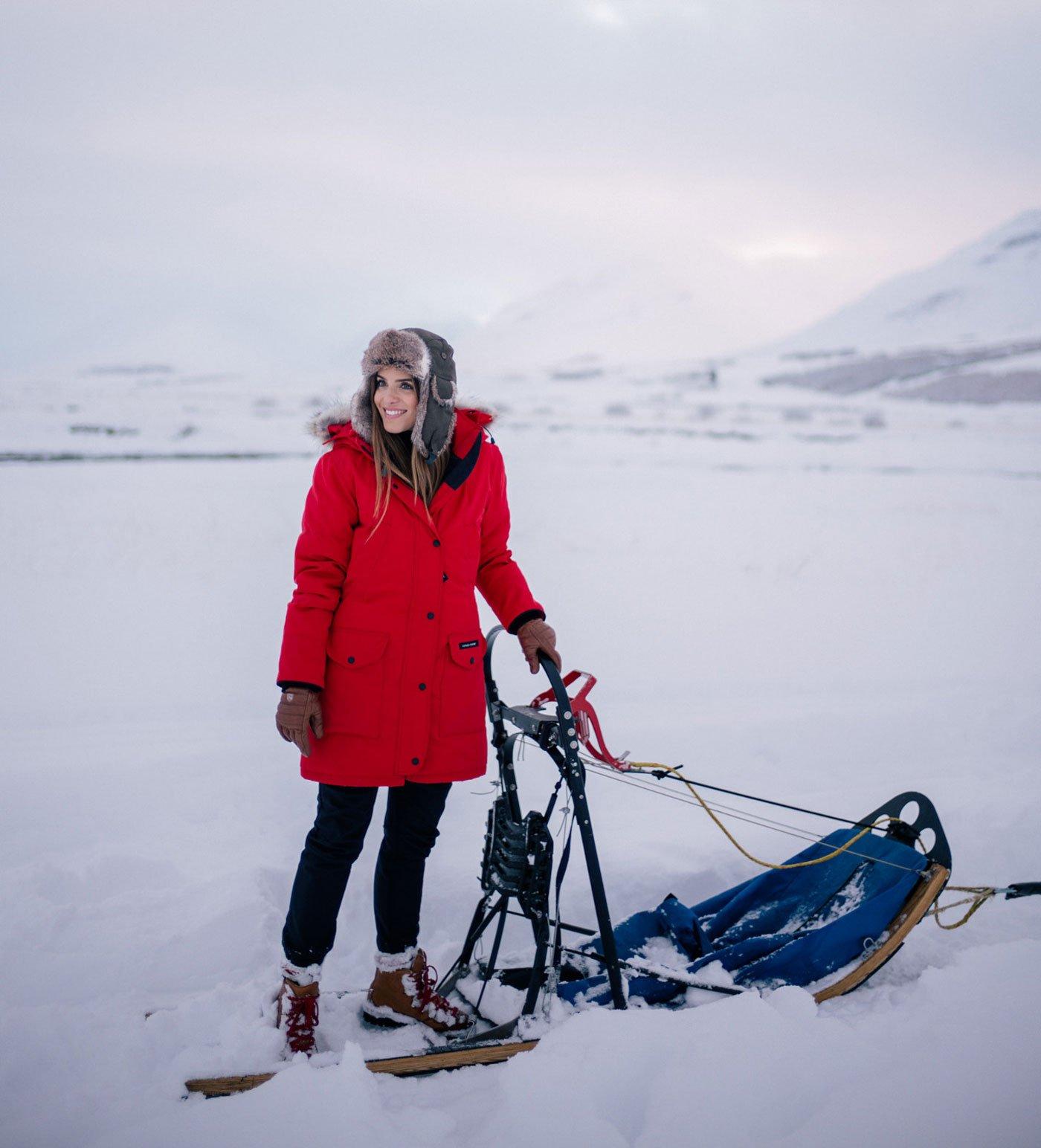 scandinavian hat outfit autumn winter