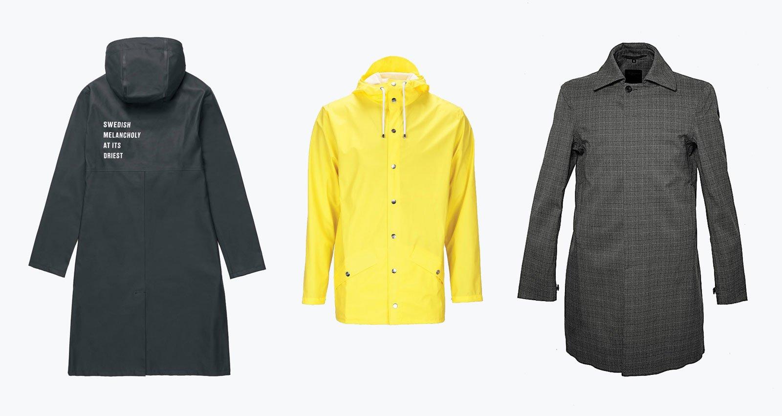 scandinavian raincoats autumn winter essentials