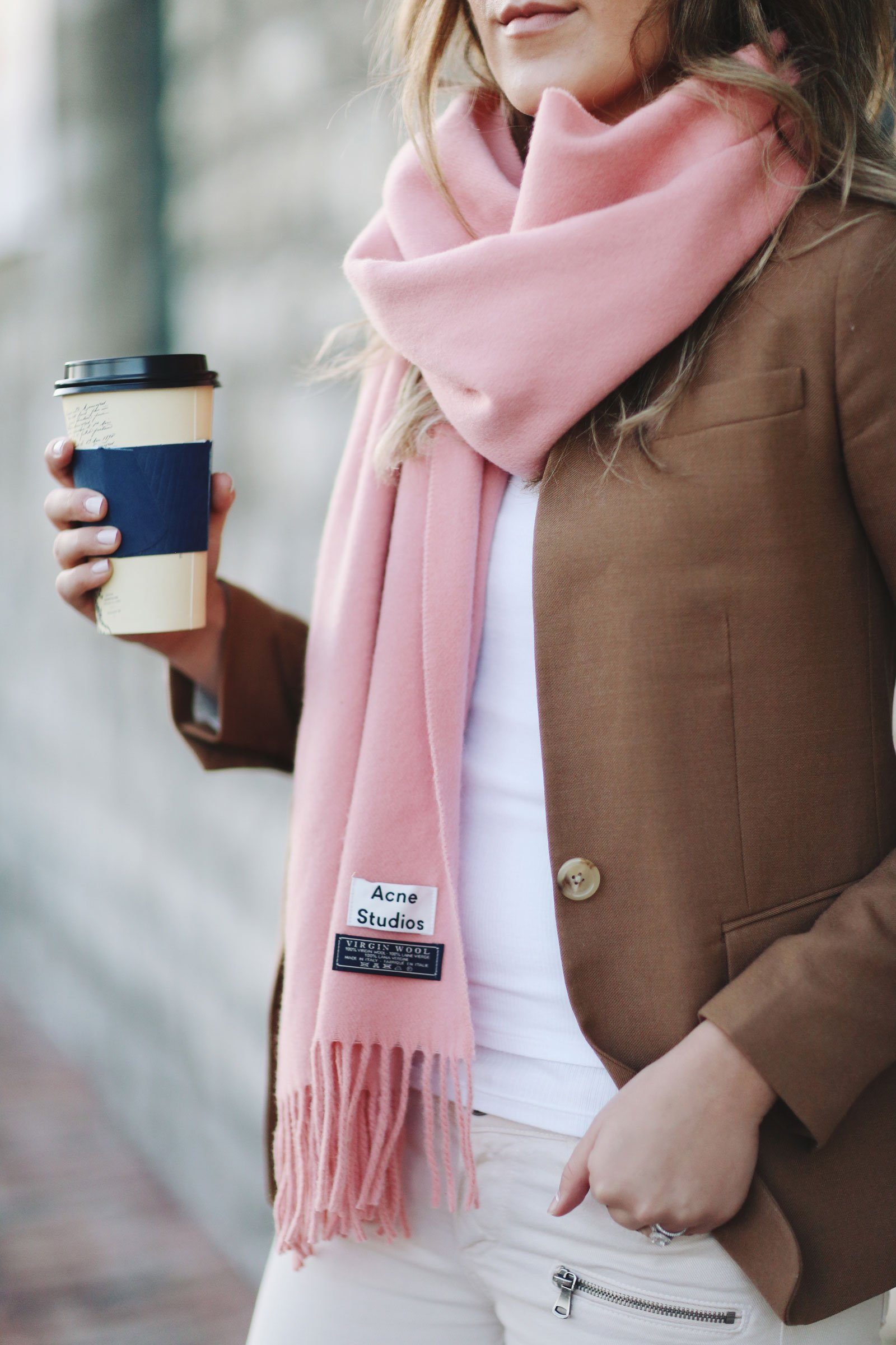 scandinavian scarf acne autumn winter