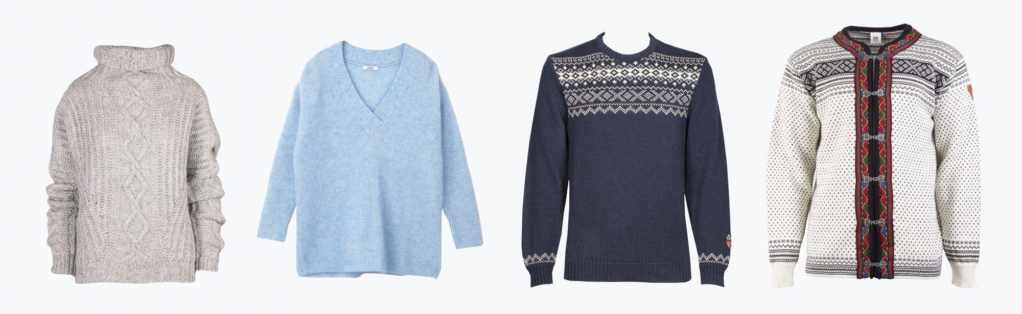 scandinavian sweaters autumn winter essentials