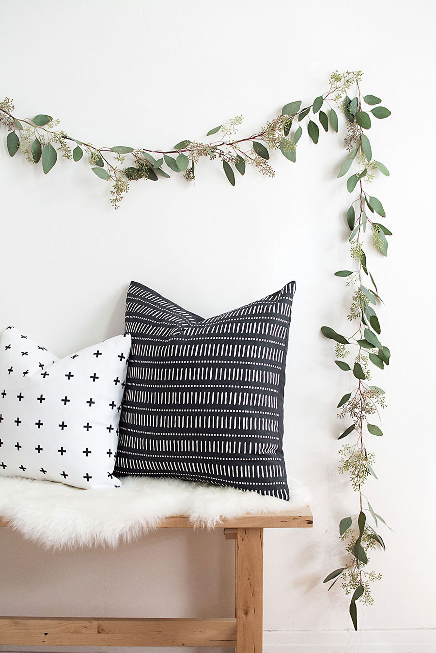 autumn decor DIY idea garland