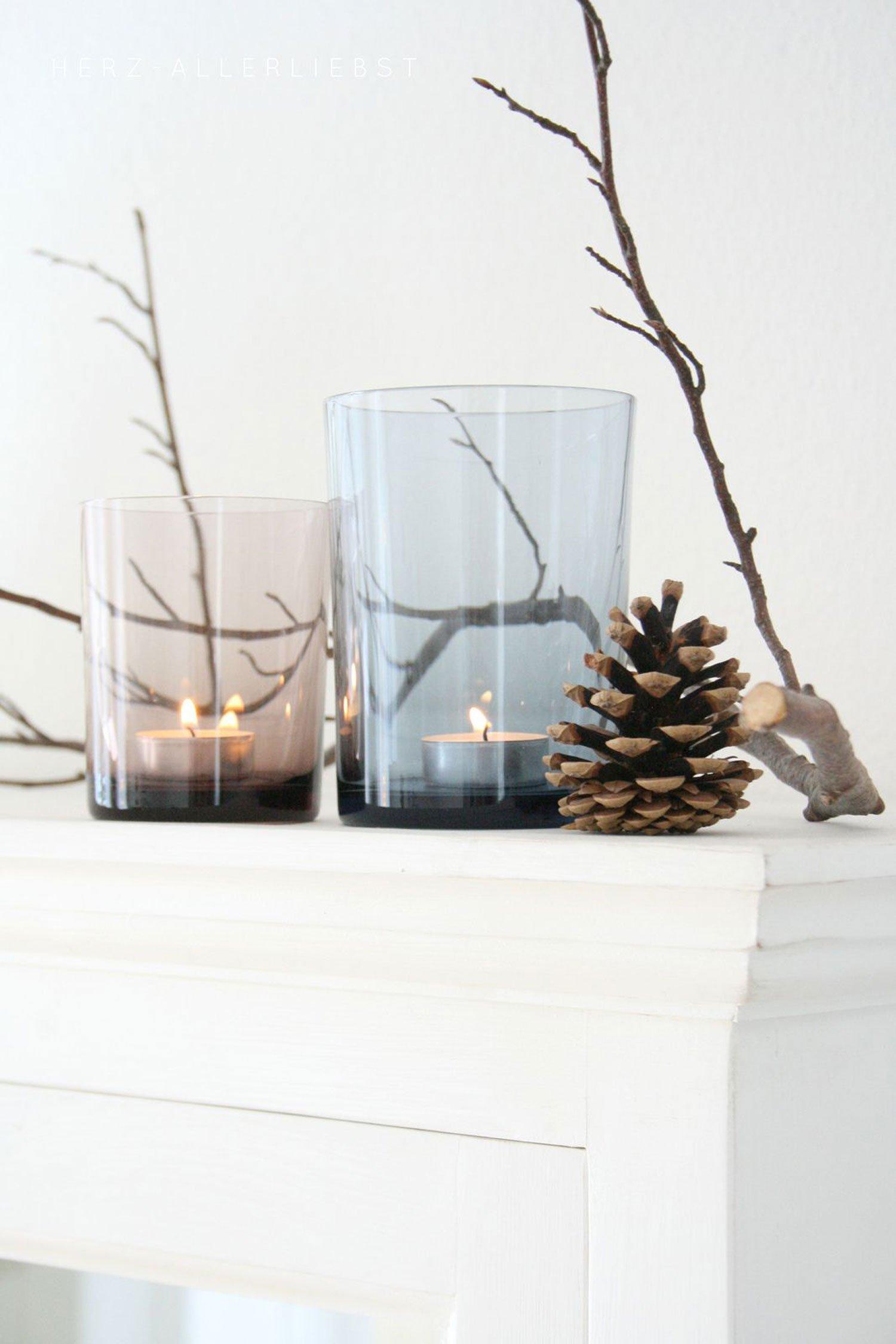 autumn decor DIY idea pinecones