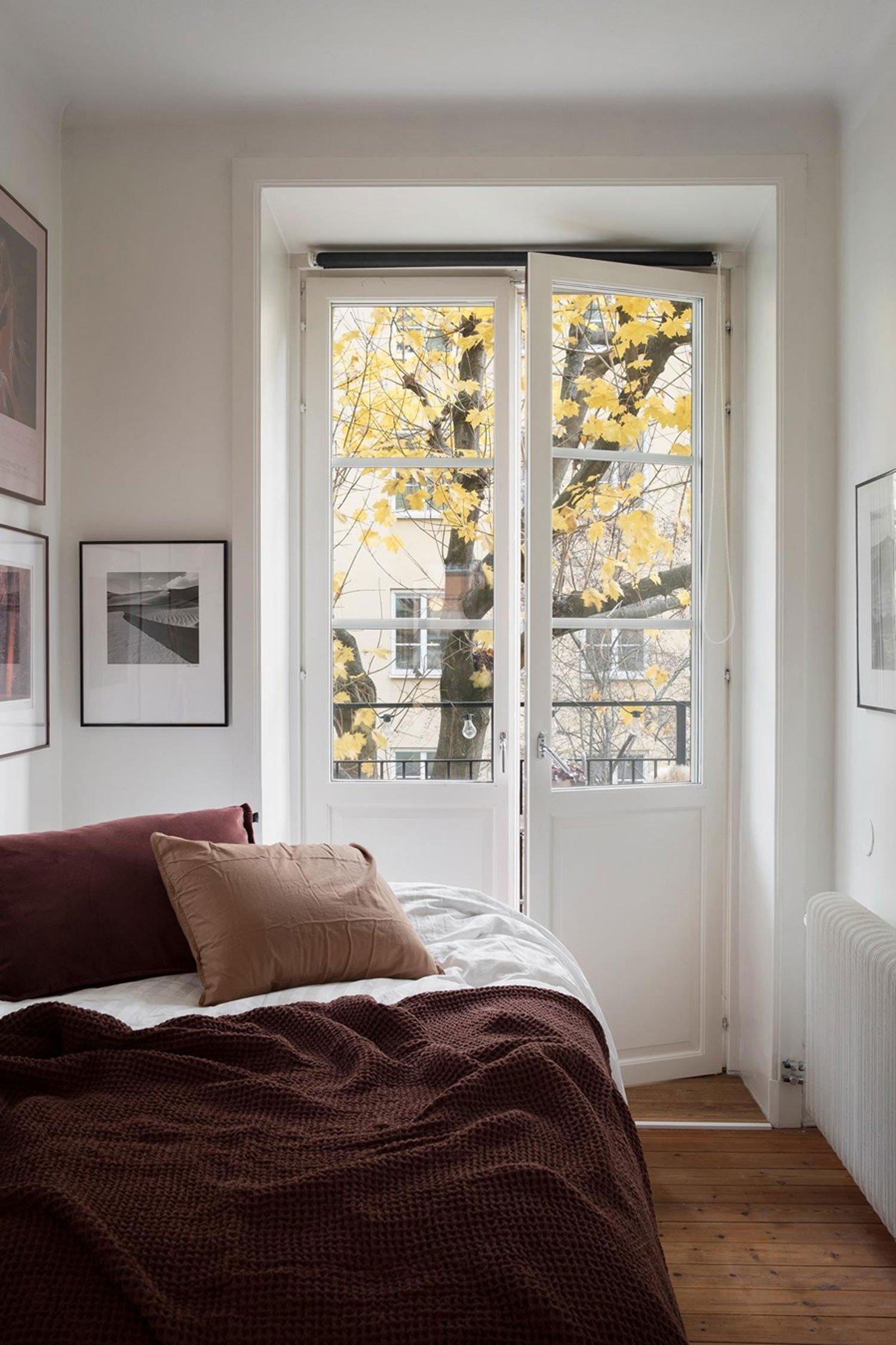 autumn decor home idea cozy bedroom