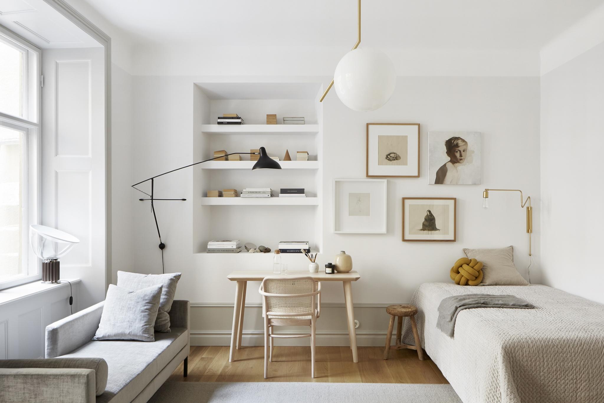 autumn decor home idea minimal pillow