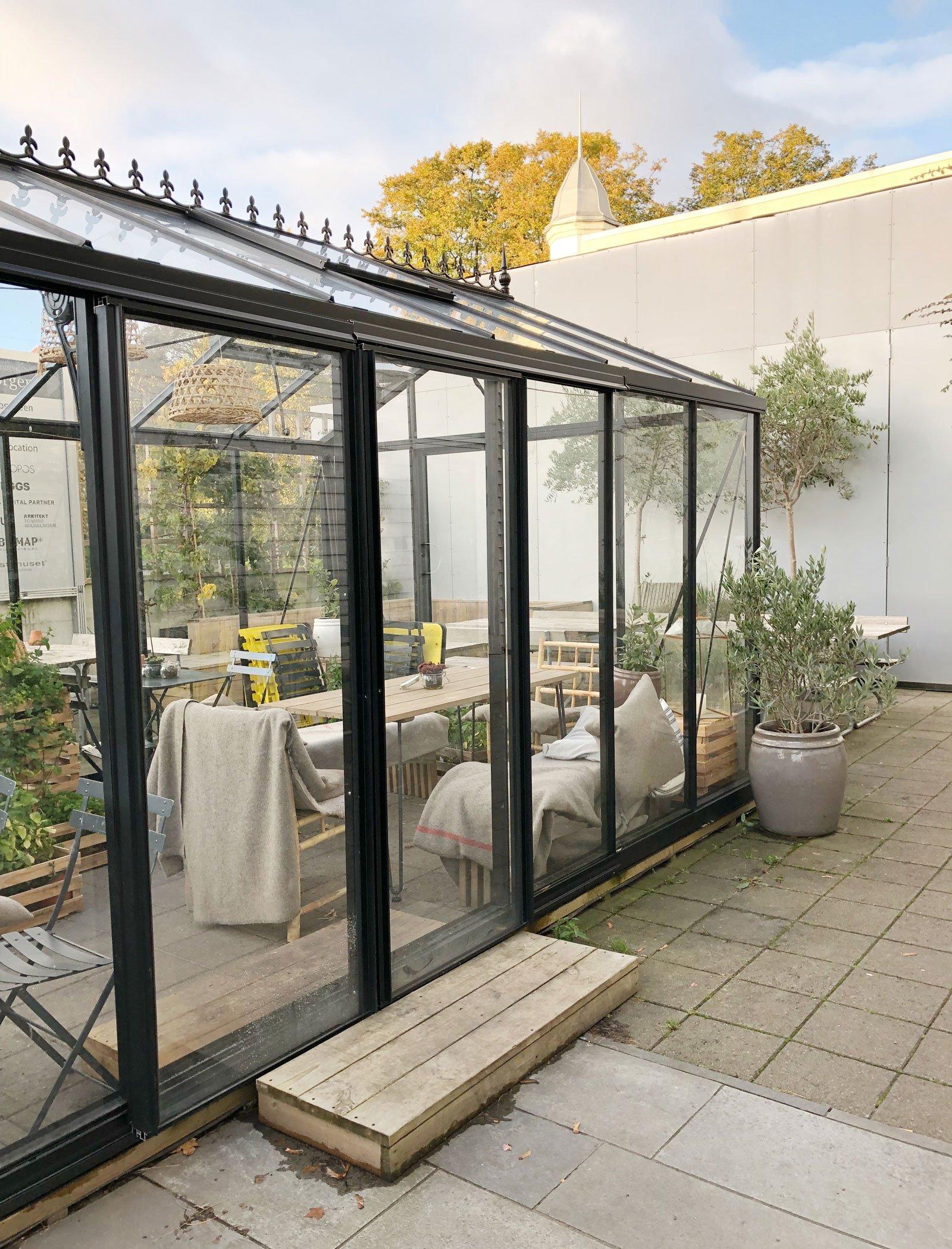 cozy stavanger cafe greenhouse