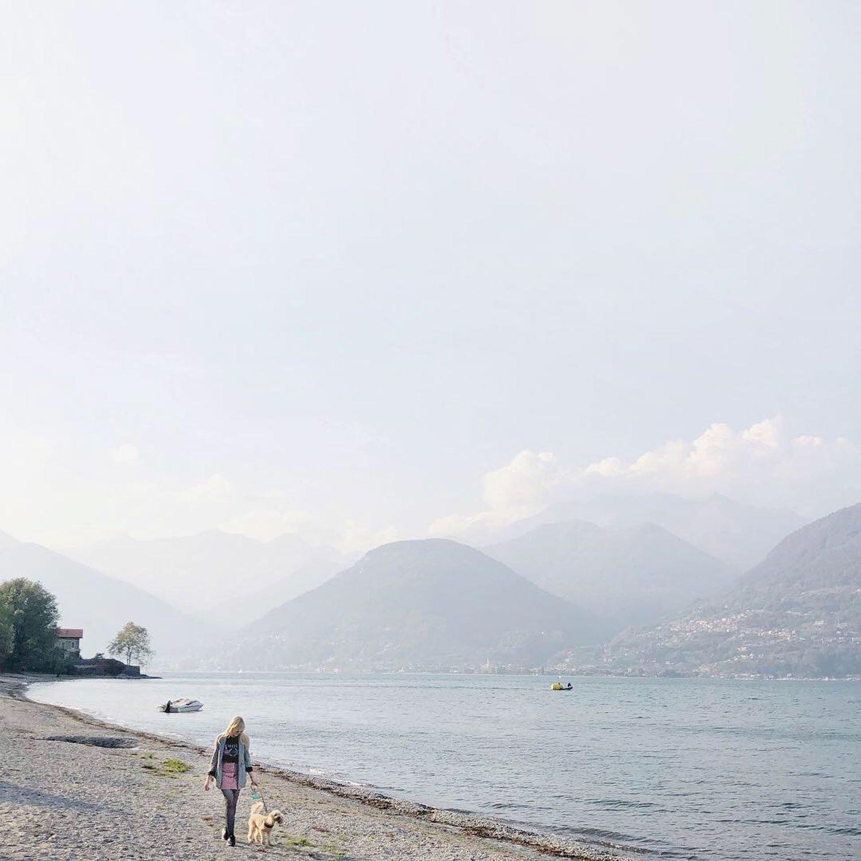 lake sunday italy hygge walk