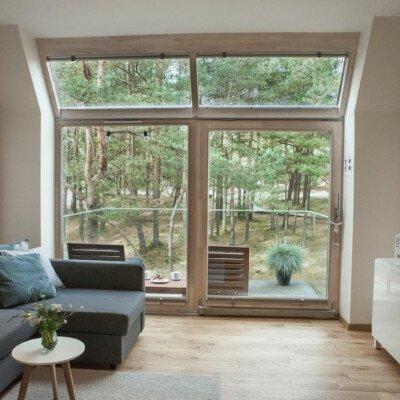 scandinavian apartment lithuania airbnb livingroom