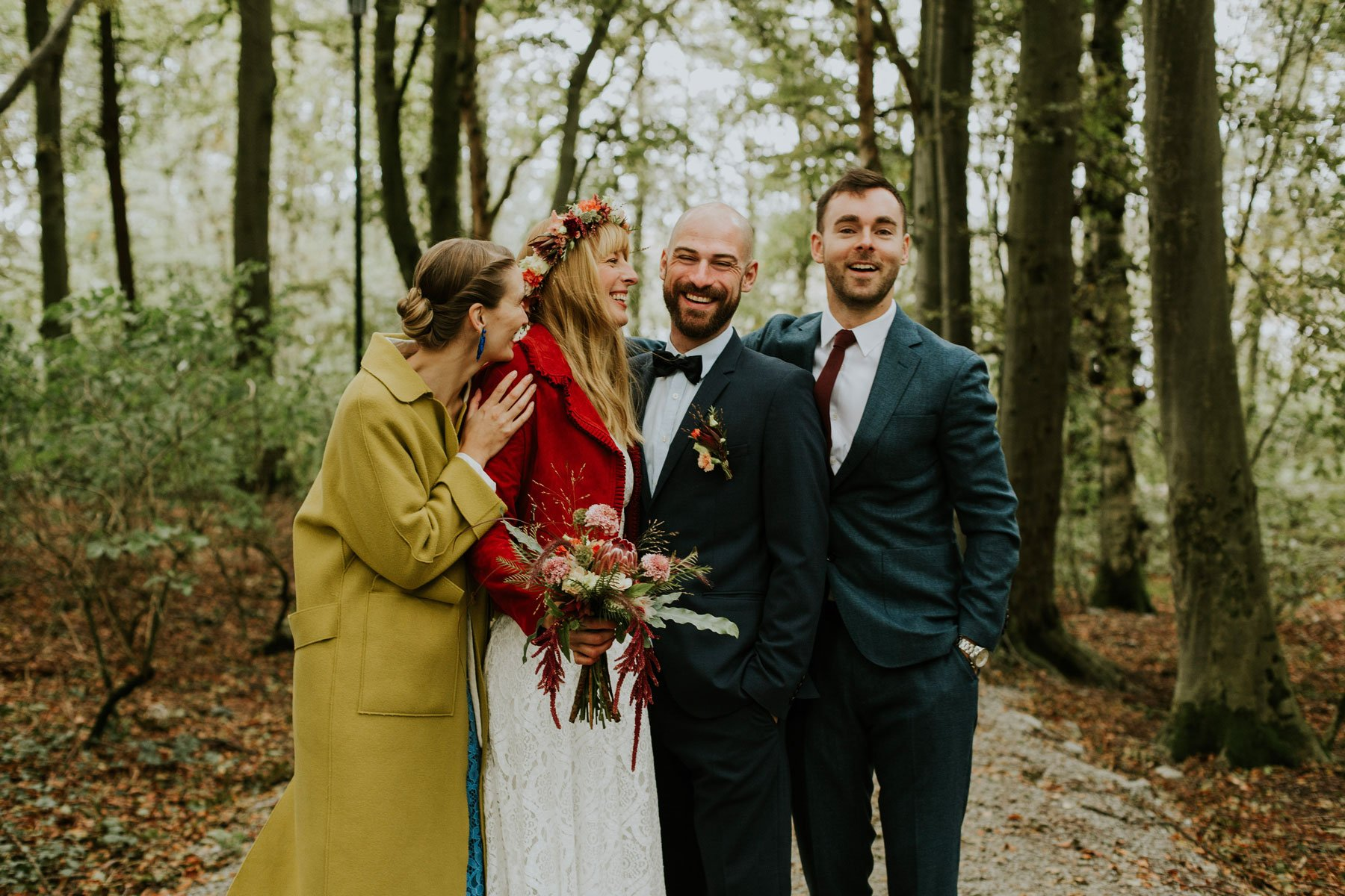 couples norwegian wedding lineowrenfotografi tuvamats