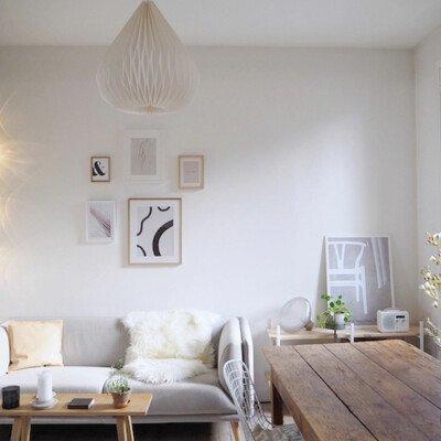latazzinablu livingroom sofa cozy scandinavian