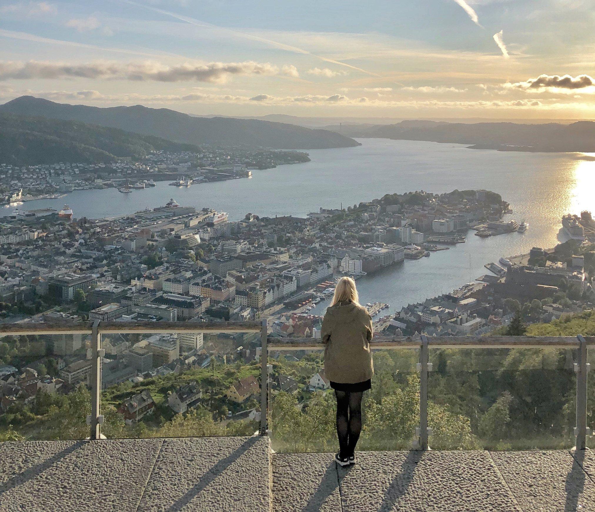 travel norway budget bergen view