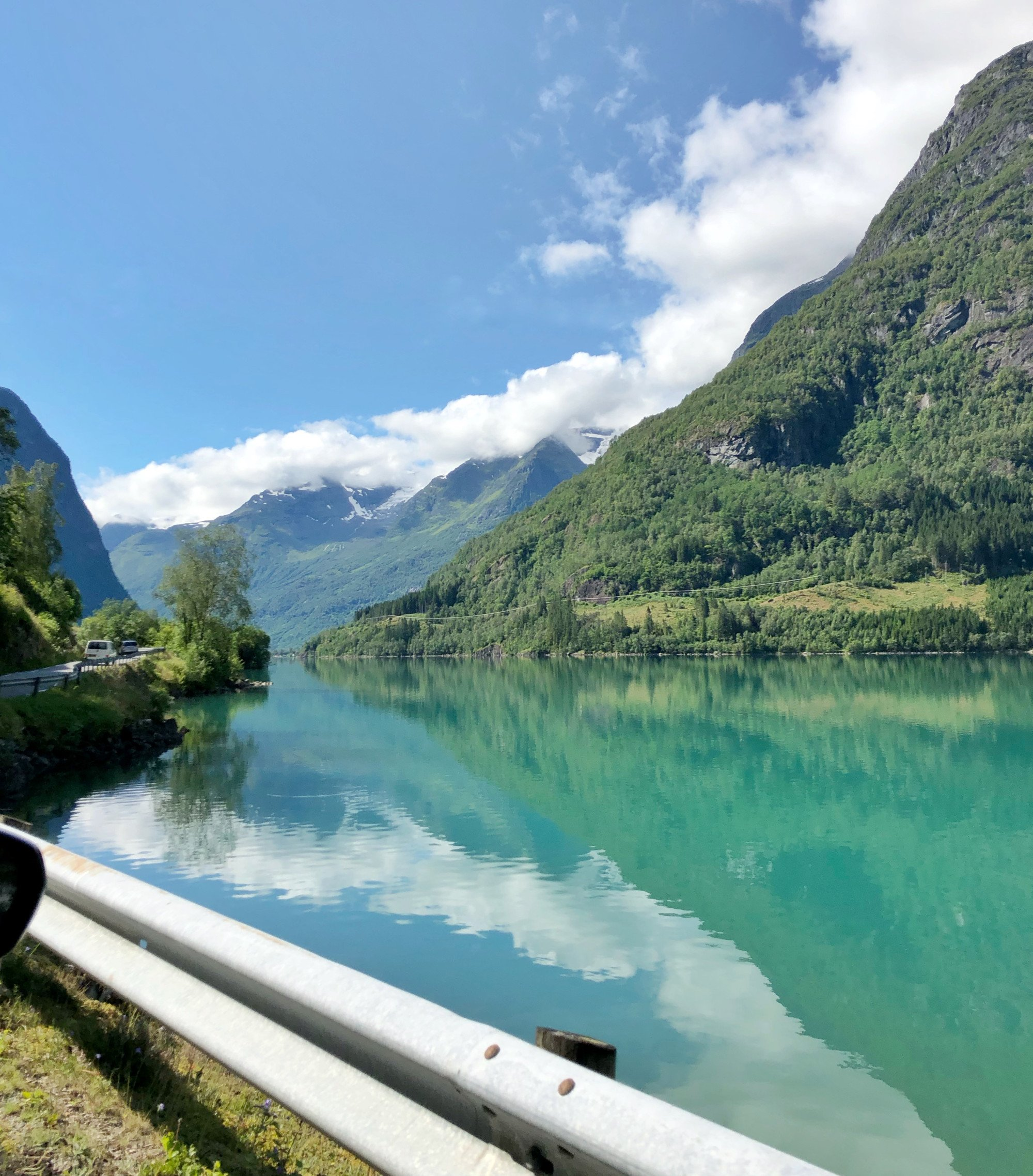 travel norway budget car fjord