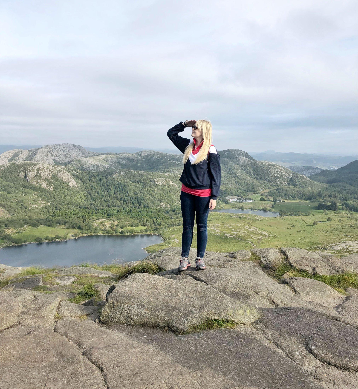 travel norway budget hiking