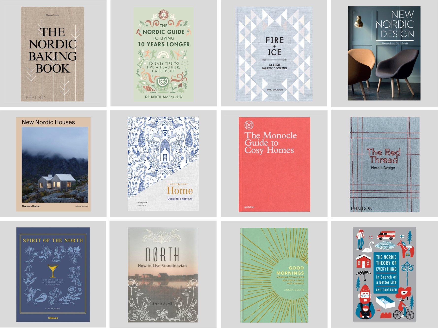 Beautiful Nordic Coffee Table Books