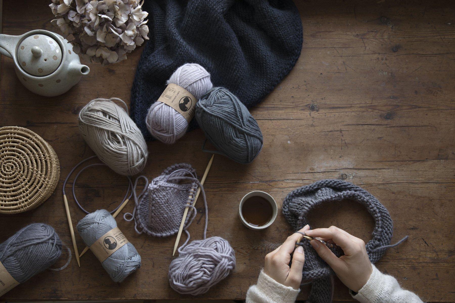 SostreneGrene hygge moment knitting cozy