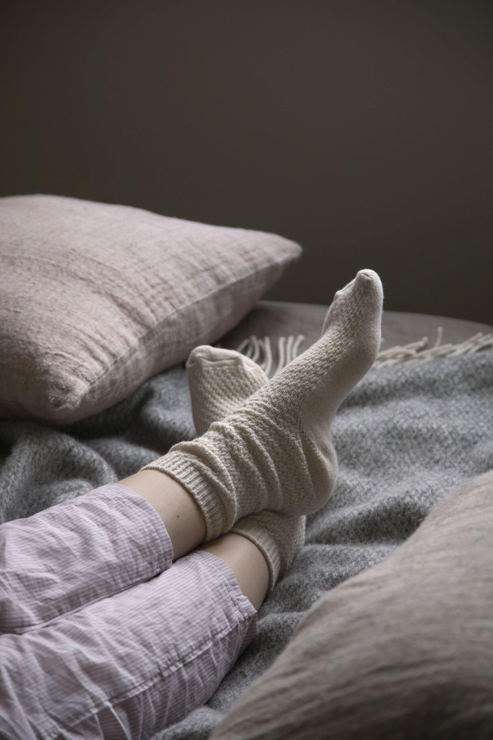 SostreneGrene hygge moment socks cozy scaled