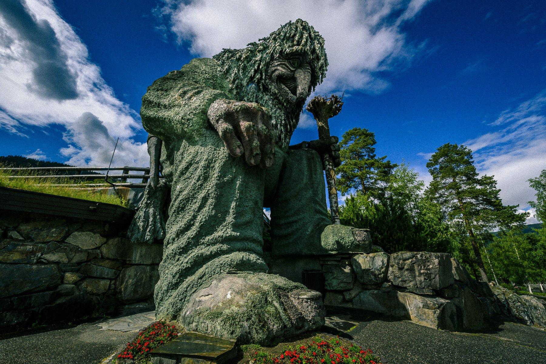 hunderfossen nordic travel kids troll