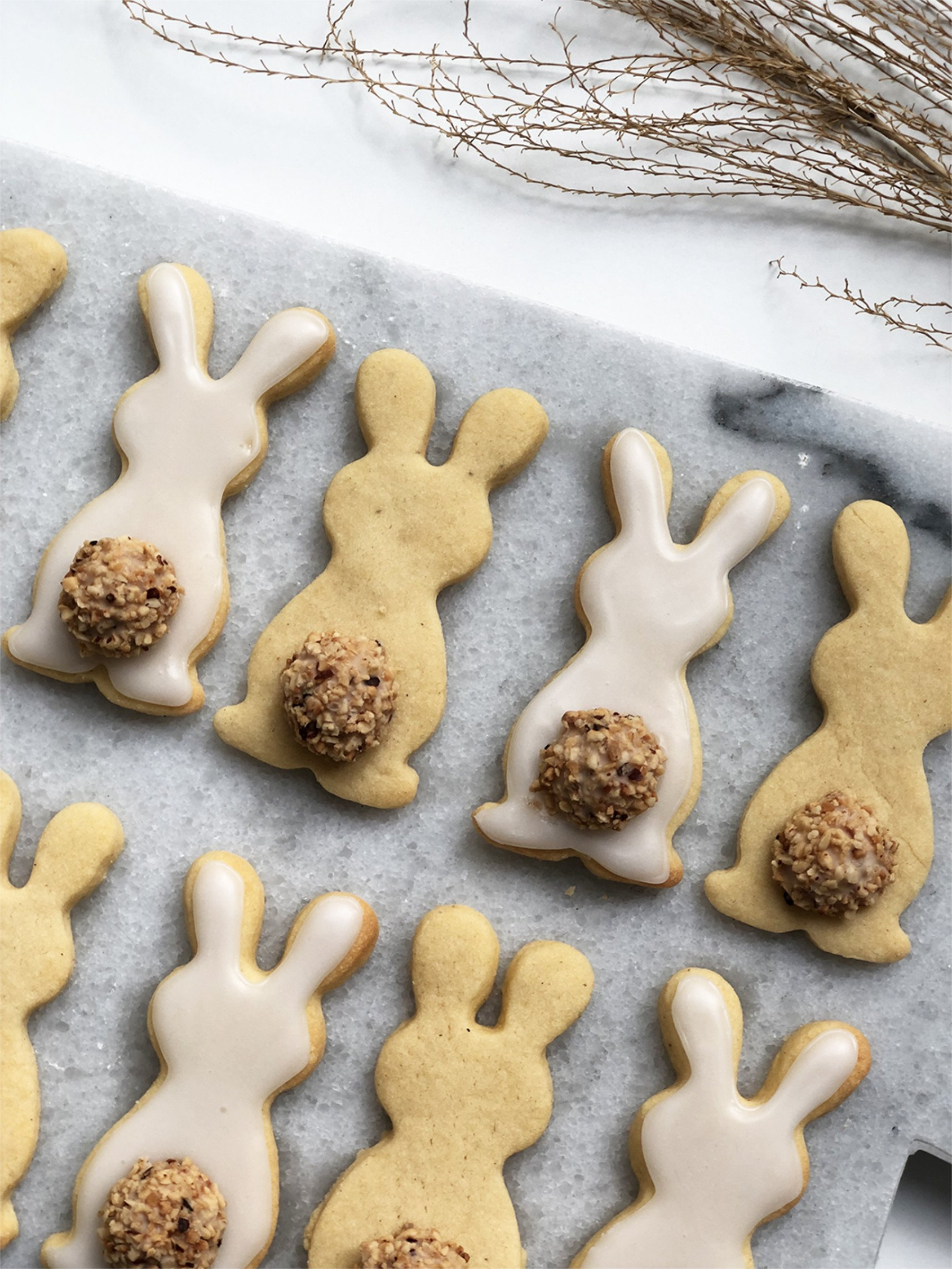 Easter DIY inspiration bunny bisquits