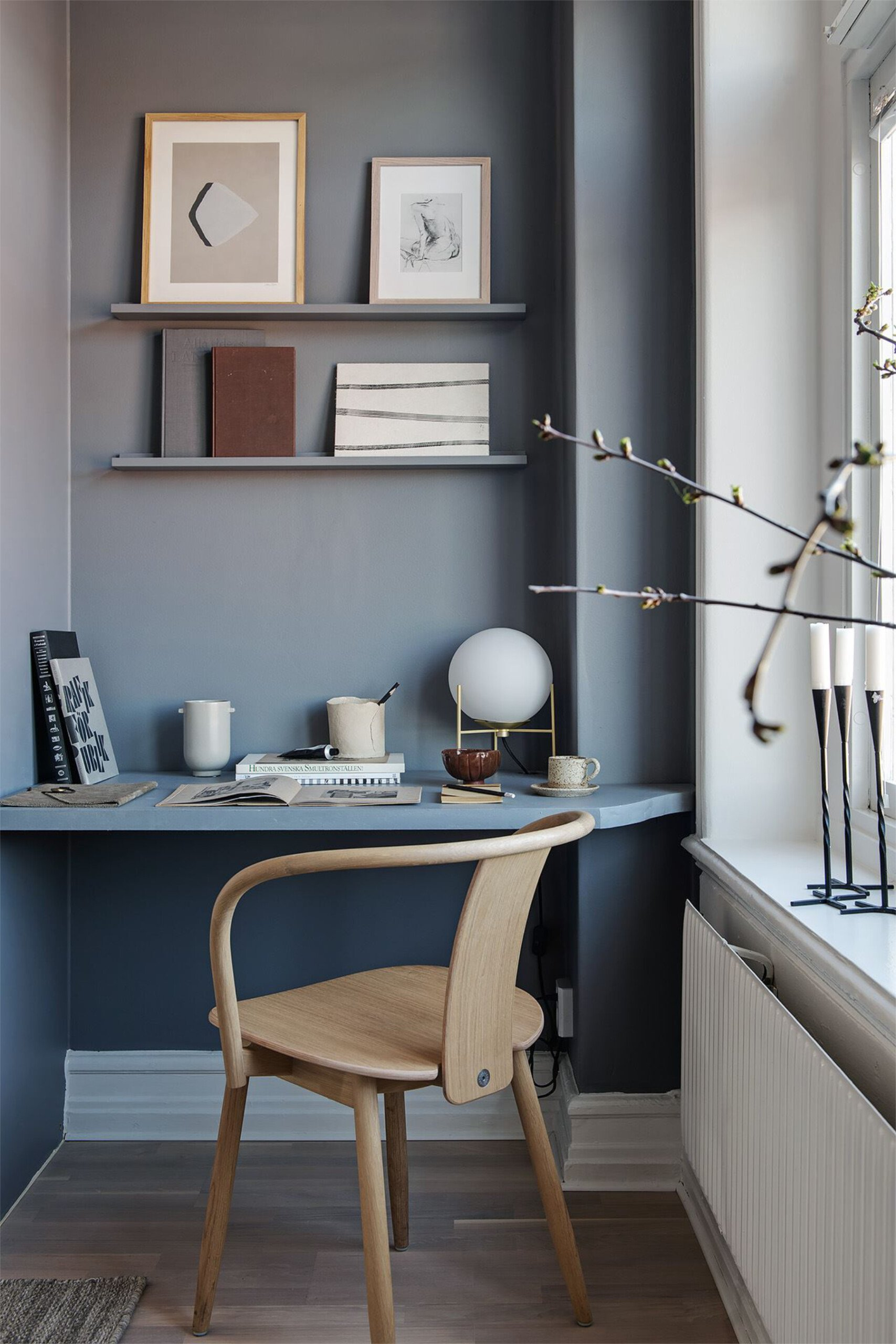 that scandinavian feeling office home blue shelf scaled