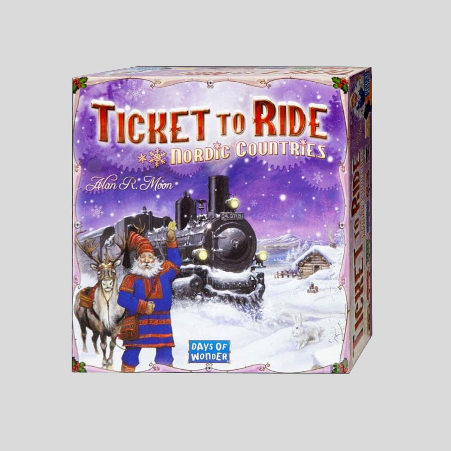 thatscandinavianfeeling board game nordic tickettoride