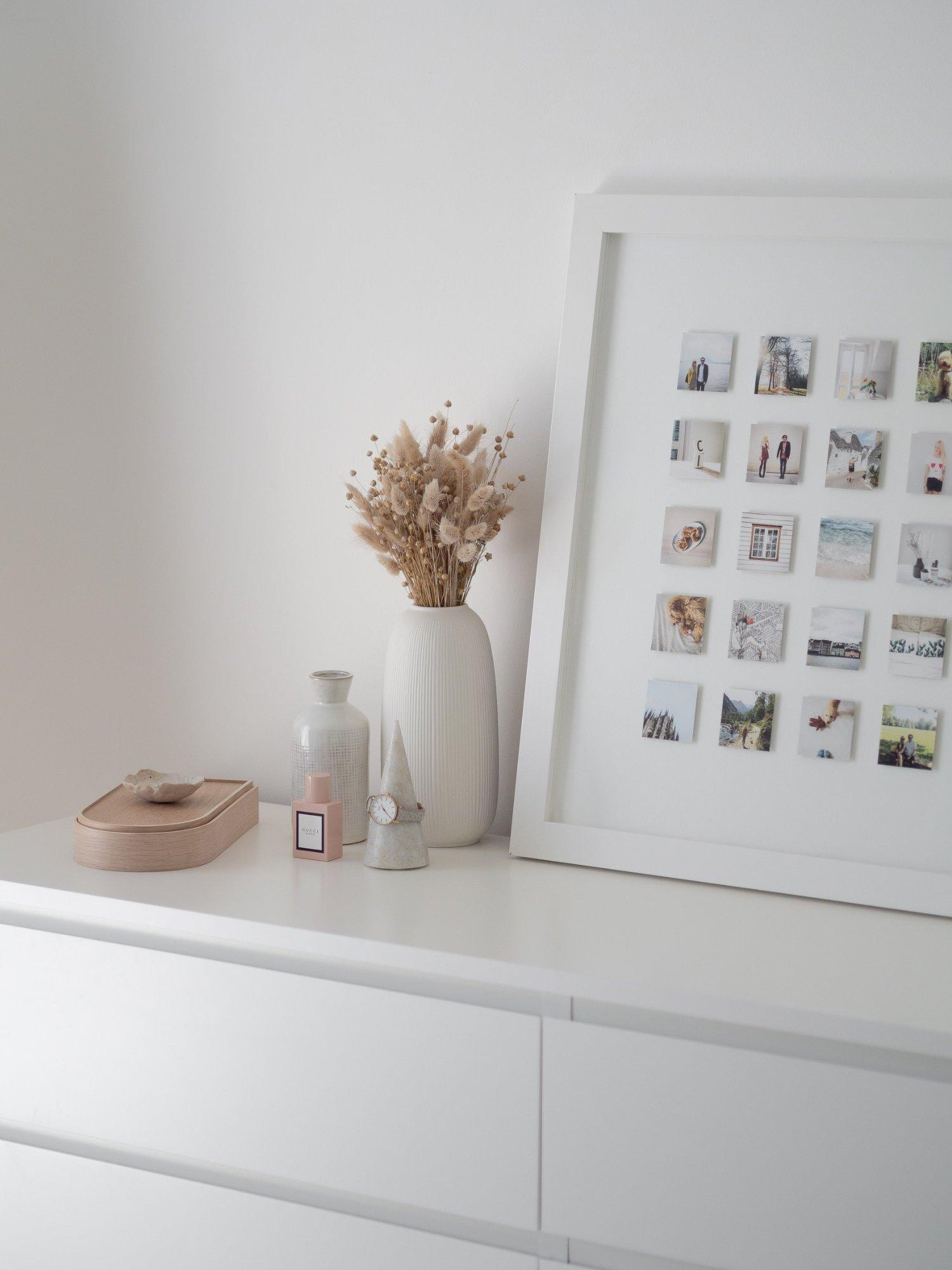 That Scandinavian Feeling Home Tour bedroom dresser details